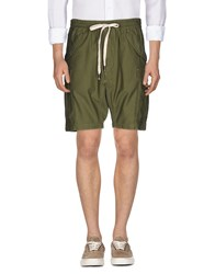 Nlst Bermudas Military Green