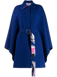 Emilio Pucci Oversized Wool Belted Coat 60
