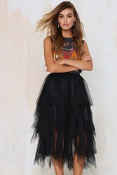Nasty Gal Just Like Heaven Mesh Tutu Skirt