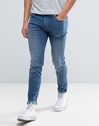 Lee Malone Super Skinny Jeans Common Blue Blue