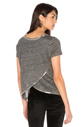 Generation Love Sam Herringbone Tee Gray