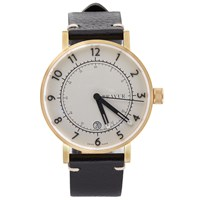 Bravur Watches Bw001 Gold White Dial Watch