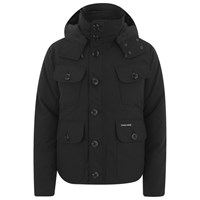 Canada Goose Men's Selkirk Down Filled Parka Jacket Black