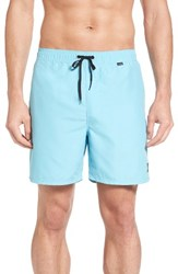 Hurley Men's One And Only 2.0 Volley Swim Trunks Vivid Sky