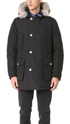 Woolrich Arctic Parka With Fur Collar New Black