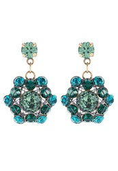 Konplott Bended Lights Earrings Blue Green Turquoise