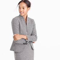 J.Crew Lady Jacket In Italian Confetti Houndstooth