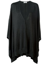 Brunello Cucinelli Flared Cardigan Black