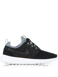 Nike Roshe Two Se Snake Print Trainers Black