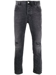 Haikure Distressed Straight Leg Jeans 60
