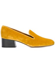 Chloe 'Kingsley' Loafers Yellow Orange