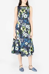 Erdem Women S Heta Midi Dress Boutique1 Navy