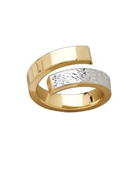 Lord And Taylor Gold Rush 14K Yellow Gold Open Swirrl Band