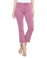 Liverpool Hannah Crop Flare Jeans In Roan Rouge