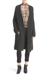 Tracy Reese Women's Chunky Sweater Coat