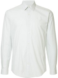 Cerruti 1881 Striped Shirt White