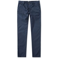 Incotex Slim Fit Stretch Chino Blue