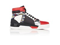 Christian Louboutin Men's Loubikick Flat Sneakers Black