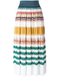 Missoni Knitted Zigzag Skirt