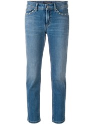 Cambio Slim Fit Jeans Blue