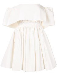 Alex Perry Elodie Mini Dress White