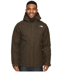 The North Face Tweed Stanwix Jacket Brown Field Tweed Men's Coat