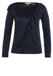 Morgan Long Sleeved Top Blue