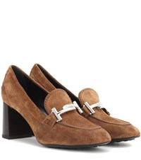 Tod's Suede Pumps Brown