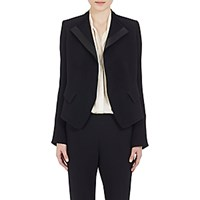 Chloe Women's Evening Jacket Black Blue Black Blue