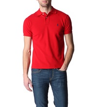 Ralph Lauren Slimfit Mesh Polo Shirt Rl2000 Red