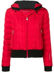 Perfect Moment Cordon Down Jacket Red