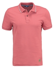 Tom Tailor Fitted Polo Shirt Red