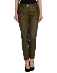 Moschino Casual Pants Military Green