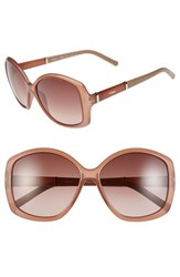 Chloe Women's Chloe 'Daisy' 58Mm Sunglasses Light Brown