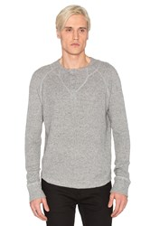 Joe's Jeans Waffle Sweater Knit Gray