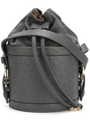 Desa 1972 Bucket Shoulder Bag Grey