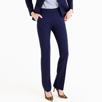 J.Crew Petite Campbell Trouser In Italian Stretch Wool