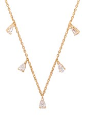 Frasier Sterling Sweetheart Necklace Metallic Gold
