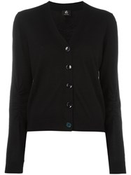 Paul Smith Ps By V Neck Cardigan Black
