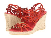 Eric Michael Jillian Red Women's Wedge Shoes