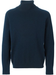 A Kind Of Guise Turtle Neck Sweater Blue
