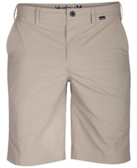 Hurley Men's Dri Fit Chino Shorts Oatmeal
