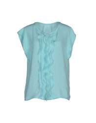Marc Cain Shirts Blouses Women Turquoise