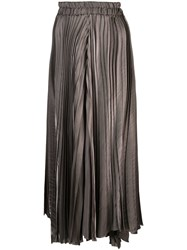 Dusan Large Pleated Trousers Grey