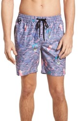 Globe Deep End Pool Shorts Dusty Coral