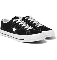 Converse One Star Ox Suede Sneakers Black