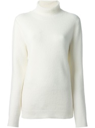 Dkny Turtle Neck Sweater Nude And Neutrals