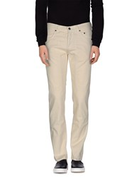 Jeckerson Trousers Casual Trousers Men Ivory