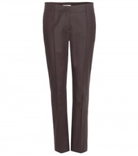 Dorothee Schumacher Bold Silhouette Cotton Trousers Grey