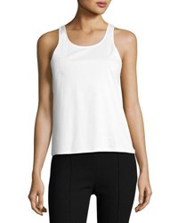 The Row Riton Stretch Tank Top Black